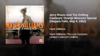 Jerry Rivers And The Drifting Cowboys: Orange Blossom Special (Niagara Falls, May 4, 1952)