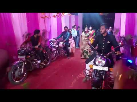 sonam kapoor Bride dance, ||Dulhan entry on bullet || indian wedding function video 2018