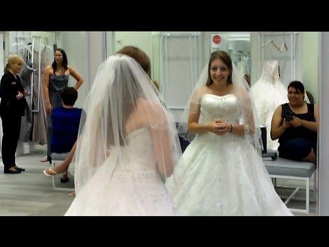 Wedding Dress Shopping David S Bridal Youtube