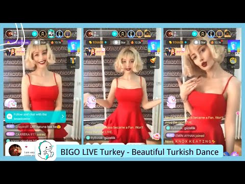 BIGO LIVE Turkey -  Beautiful Turkish Dance