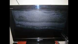 Lỗi màn hình TV SONY 32BX300 - Sony TV so bad!