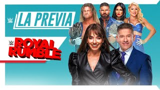 La Previa de WWE: Royal Rumble, Ene 31, 2021