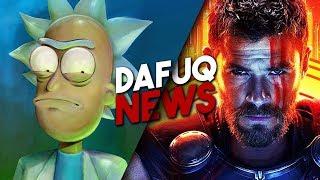 Thor: Love and Thunder! Premiera 4 sezonu Rick and Morty i nowy Matrix!