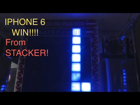 IPHONE 6 WIN FROM STACKER!