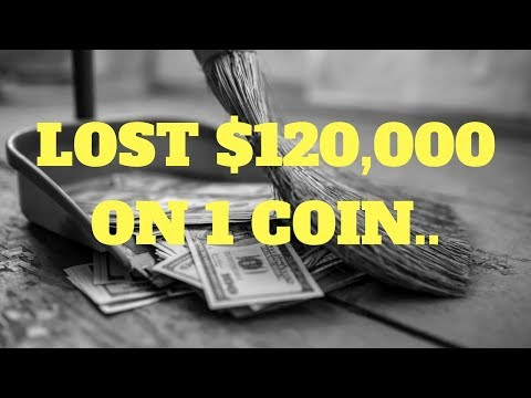 LOST $120,000 IN CRYPTO ON 1 COIN | Learn From My Mistakes