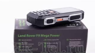 Обзор защищенного телефона Land Rover F9 Mega Power