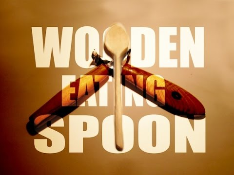 Full Wooden Spoon Carving (small eating spoon)
