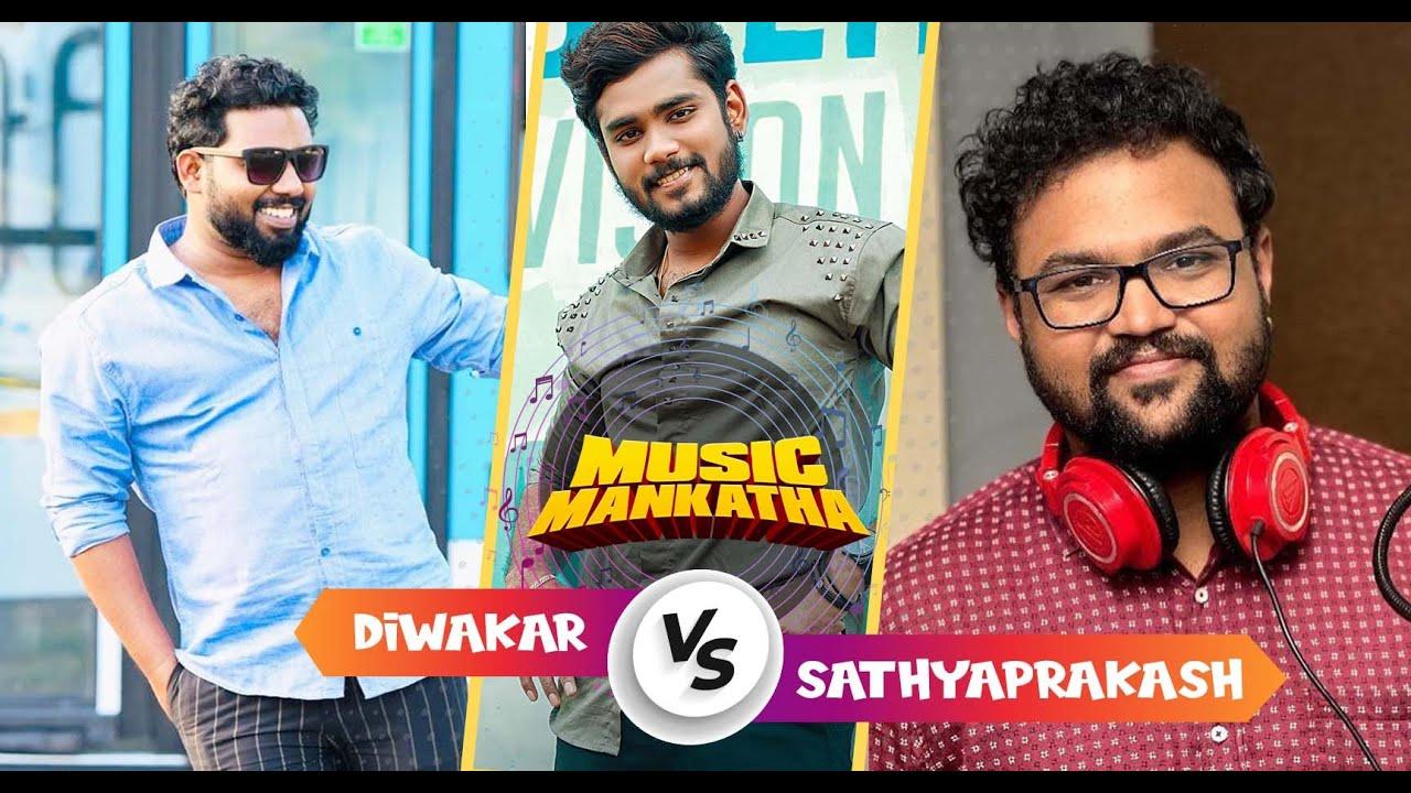 Sam Vishal & Sivaangi's Fun Game With Singer Diwakar & Sathya Prakash | Music Mankatha | MediaMasons