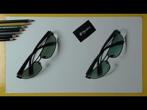 Hangisi Çizim? | 3 Boyutlu Güneş Gözlüğü Çizimi