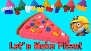How to Make PIZZA With Kinetic Sand |  Toddler Song | baa baa black sheep