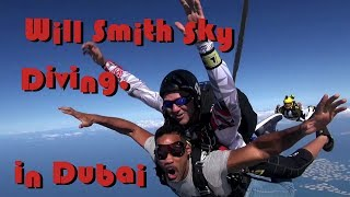 Will Smith SKY DIVING In Dubai