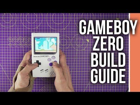 Game boy Zero Complete Build Guide