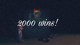 Hit 2000 wins (Breaking point mobile)