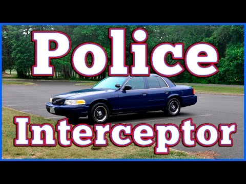 Regular Car Reviews: 2000 Ford Crown Victoria P-71 Police Interceptor