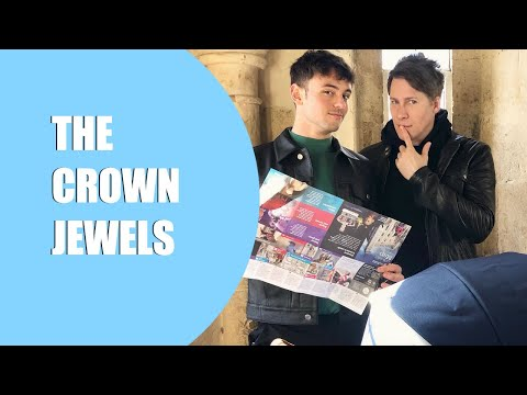 Taking a look at the Crown Jewels 😜💎 I Tom Daley