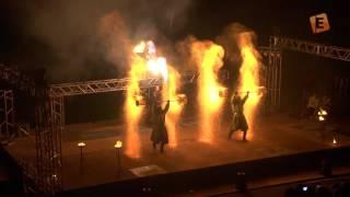 Огненное шоу МИФФ-2015 в Солигорске