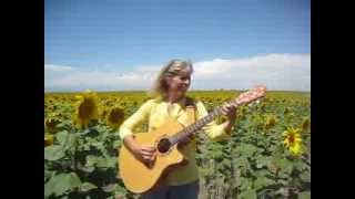 """Sunflower Song"" live, acoustic version.  Original song by Mary D"