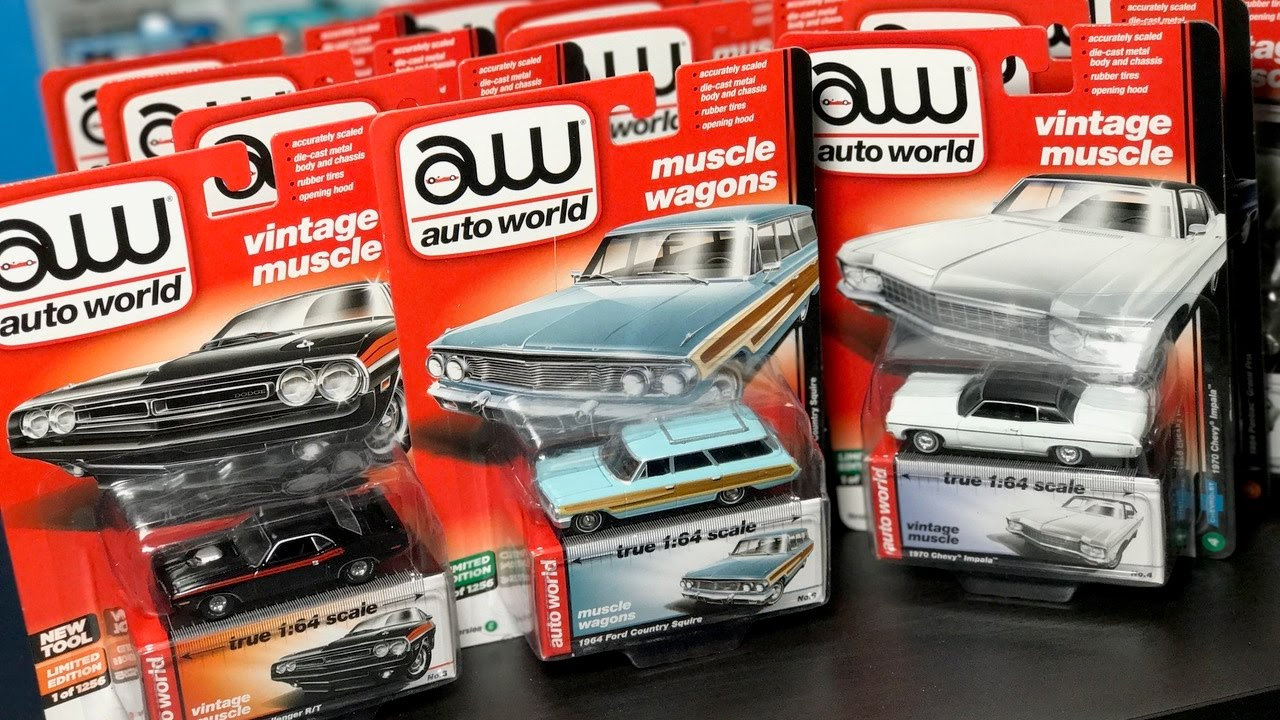 Lamley Unboxing: Auto World 2017 Series 1 Versions C and D - YouTube