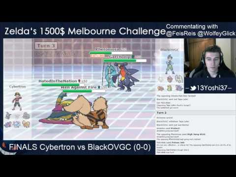VGC2017 Melbourne Challenge Finals Cybertron vs BlackOVGC
