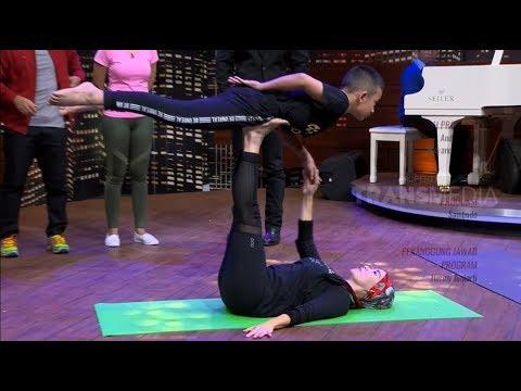 Aksi Sang Pelatih Yoga Cilik | HITAM PUTIH (07/02/19) Part 4
