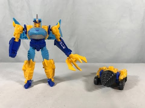 TRANSFORMERS Cyberverse S2 Power of the Spark Battle Sky-Byte Driller Drive