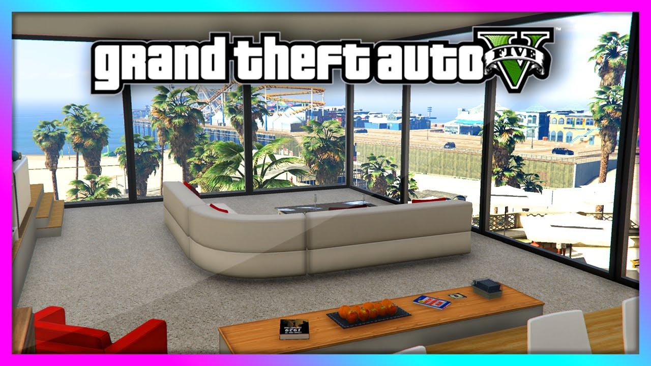 Gta 5 New Beachfront High End Apartment Mod Crazy Play V You