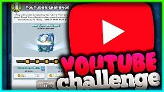 YOUTUBER CHALLENGE! TO JEST CHYBA ŁATWY CHALLENGE! CLASH ROYALE POLSKA