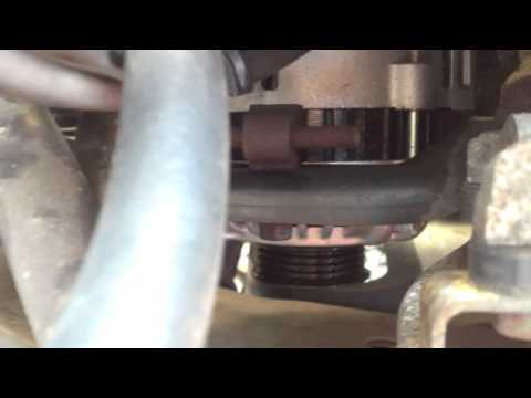 1999-2003 Mazda Protege Alternator and Belt Install How-To