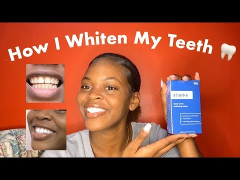 Zimba Teeth Whitening Strips 2 Weeks Update Youtube