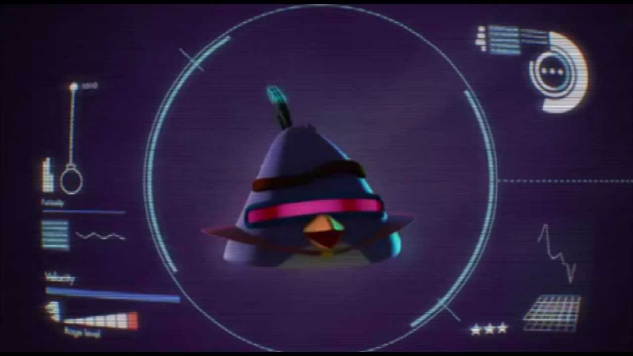 Lazer bird angry birds space new bird youtube - Angry birds space gratuit ...