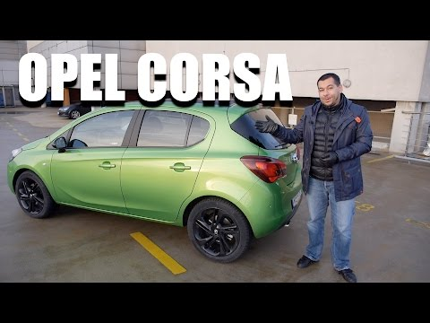 Opel Corsa 1.0 Turbo (ENG) – Test Drive and Review