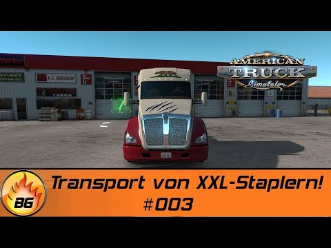 ATS - New Mexico #003 | Transport von XXL-Staplern! | Let's Play [HD]