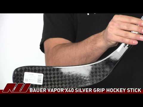 Bauer Vapor X40 SILVER Grip Hockey Stick