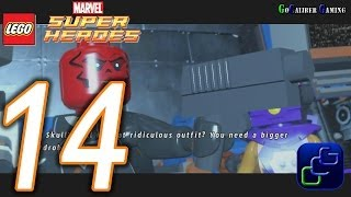 LEGO Marvel Super Heroes Walkthrough - Part 14 - Red Head Detention