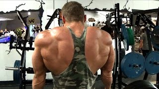 Back, Traps & Triceps Workout for Mass