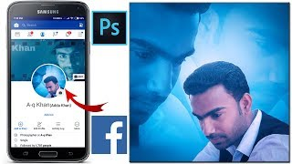 Double Exposure Effect | How to Create Facebook Profile Pictures Using Photoshop | Urdu/Hindi