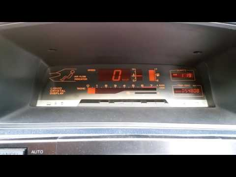 1985 Mitsubishi Galant Digital Dash