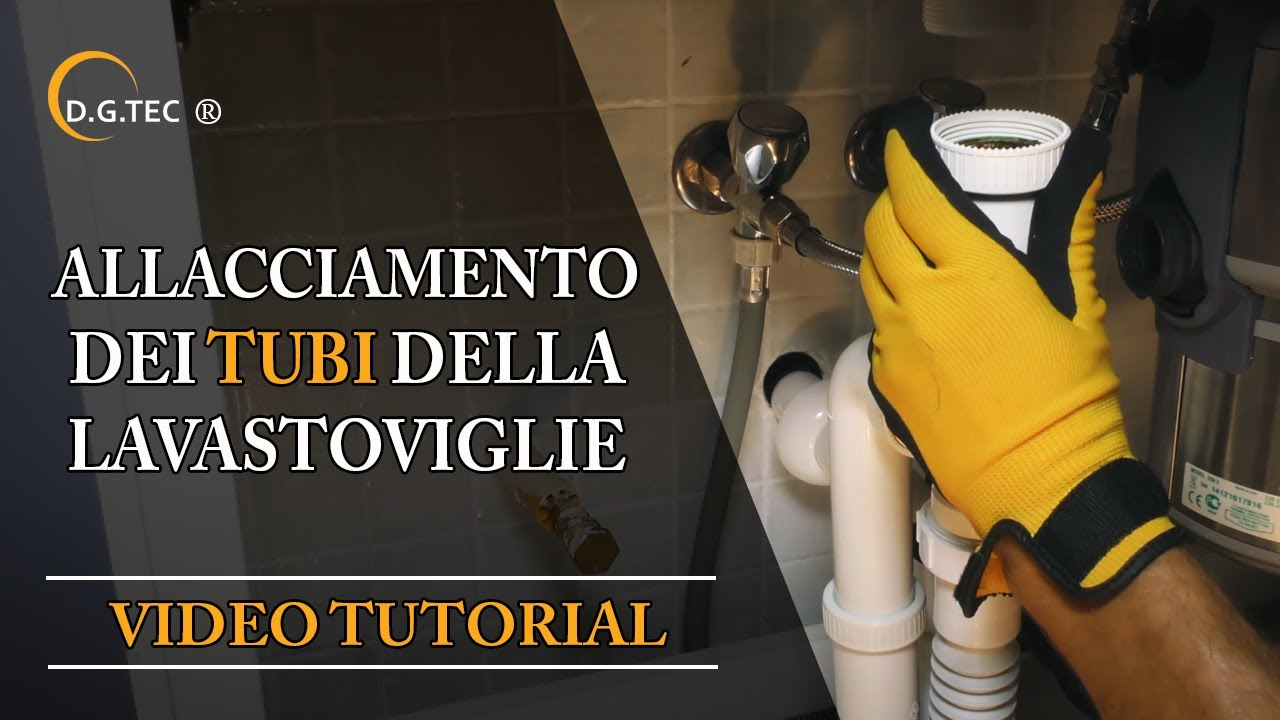 Rubinetto Sottolavabo Combinato Per Lavastoviglie.Allacciamento Tubi Lavastoviglie Rex Electrolux Aeg