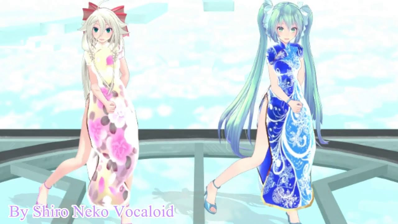 [MMD] Massara Blue Jeans - IA And Miku +Download Models