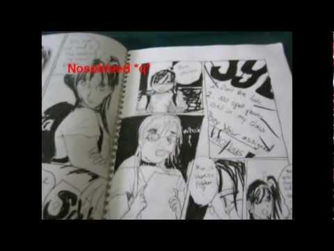 MORE Manga Drawings + Comics (2003-Now)