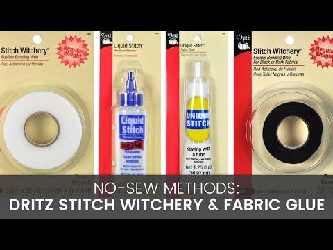 no sew methods comparing stitch witchery fabric glue youtube