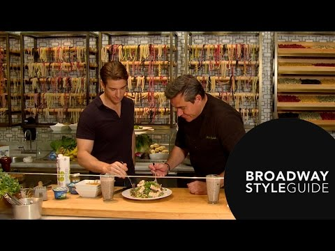 Cooking with Todd English: Guest Andy Karl