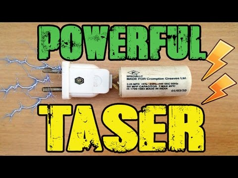 How to make a Taser | Stun gun ( Easiest tutorial ) | Double Decker
