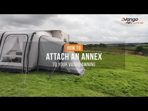 How To Attach An Annex To Your Awning Filmed 2018 Youtube