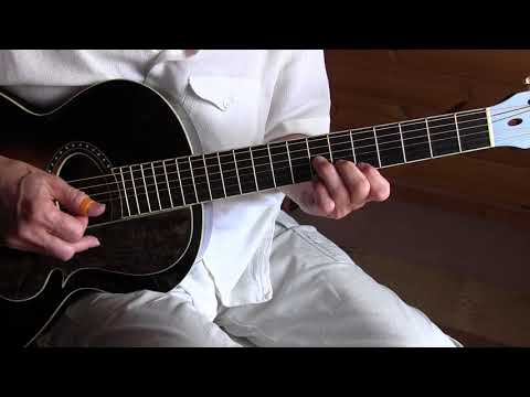 Fingerpicking Guitar Lesson - Baton Rouge Rag - Free TAB