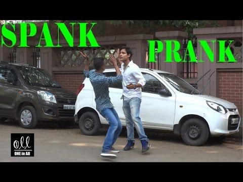 Spank Prank   Shocking Reactions  Pranks in India