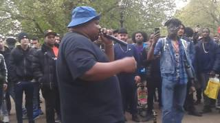 2017 London Hyde Park 420 cyPher feat. Big Narstie & Rinsa Malone - Hosted By OG DuBB