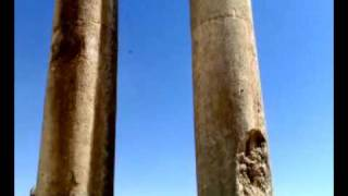 The Temple of Jupiter in Baalbek