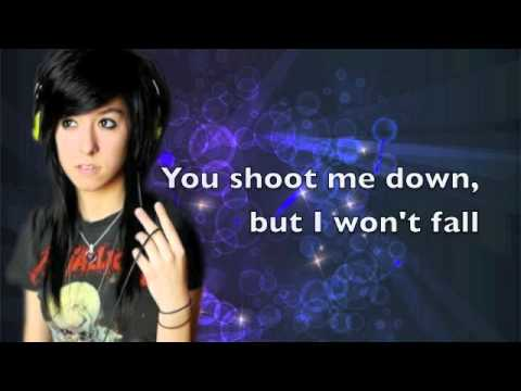 Titanium - Christina Grimmie (Lyrics & MP3 DL)