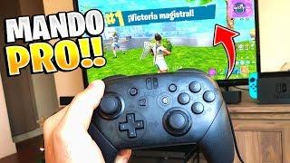 Mi primera Victoria con el Mando PRO - Fortnite en Nintendo Switch